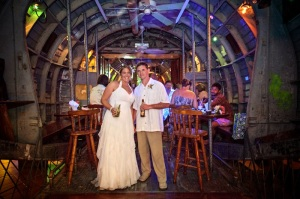 Erin and Jordan at El Avion, Costa Rica 12-12-12